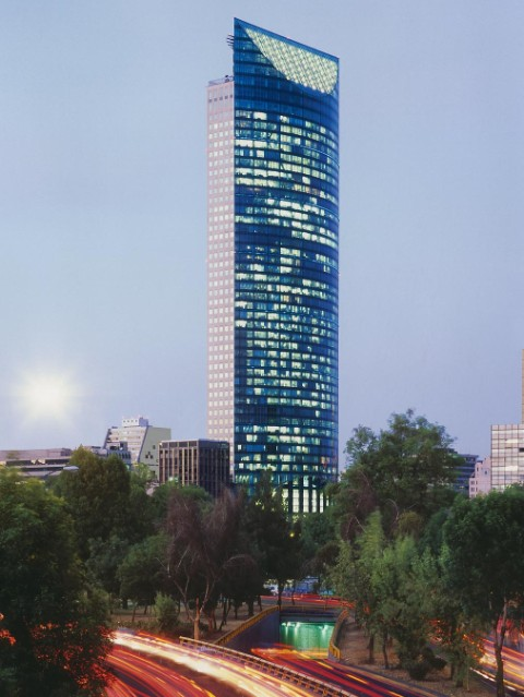 Torre Mayor, Mexico-City.